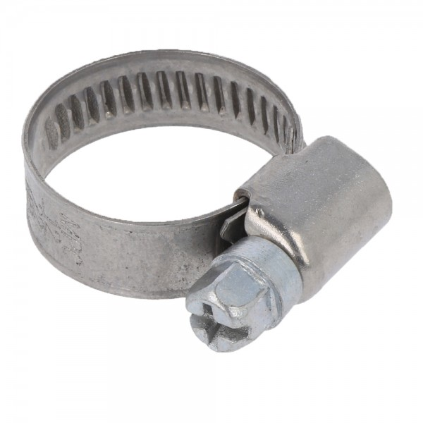 Schlauchschelle Rohrschelle Bandbreite 9 mm Ø 16-27mm DIN 3017 Schneckengewinde