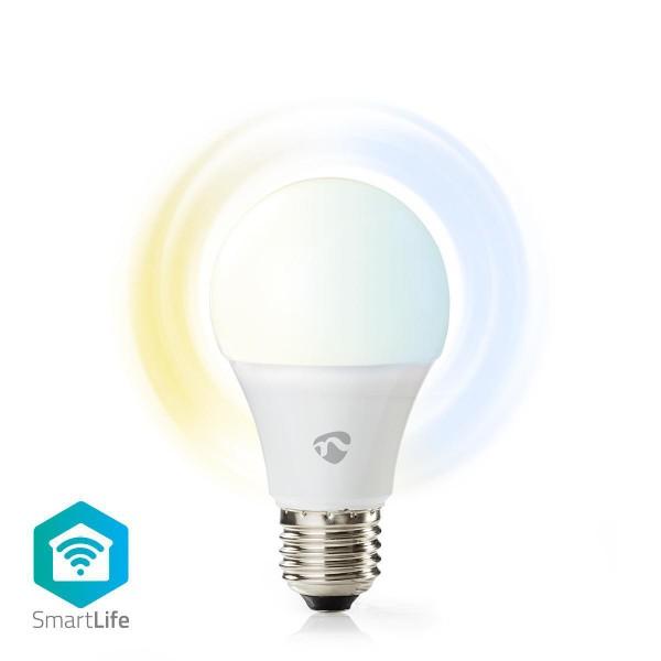 WLAN Smart LED-Lampe warmweiß bis kaltweiß E27