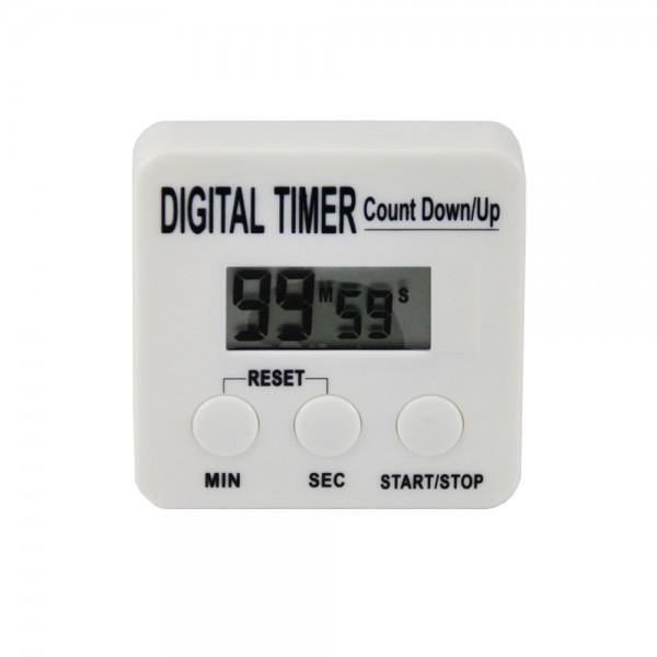 Digitale Stoppuhr Timer Kurzzeitmesser für Haushalt Werkstatt Labor