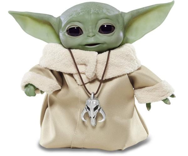 Star Wars The Child Mandalorian Mini Yoda über 25 Sound- und Bewegungskombinationen