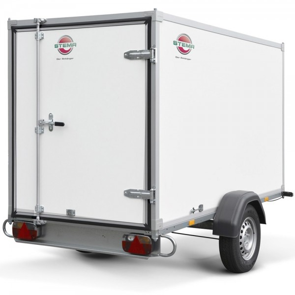 Stema PKW Koffer Anhänger Box Kofferaufbau 1300kg 251cm x 128cm