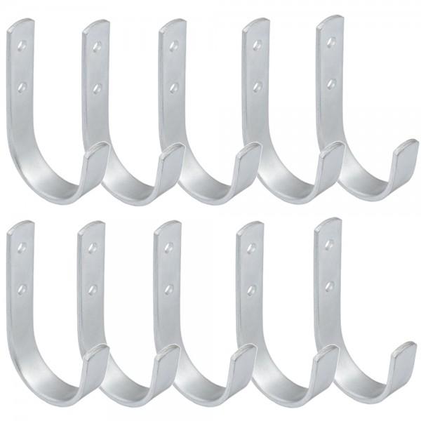10x Wandhaken Halter Wandhalterung Geräteträger Werkzeug Haken 180x100 mm