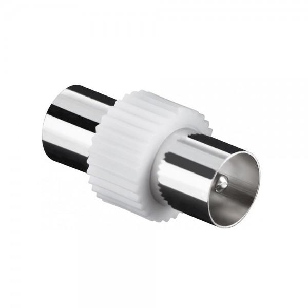 TV Antennen Adapter Kabelverbinder Koaxial Stecker - Koaxial Stecker