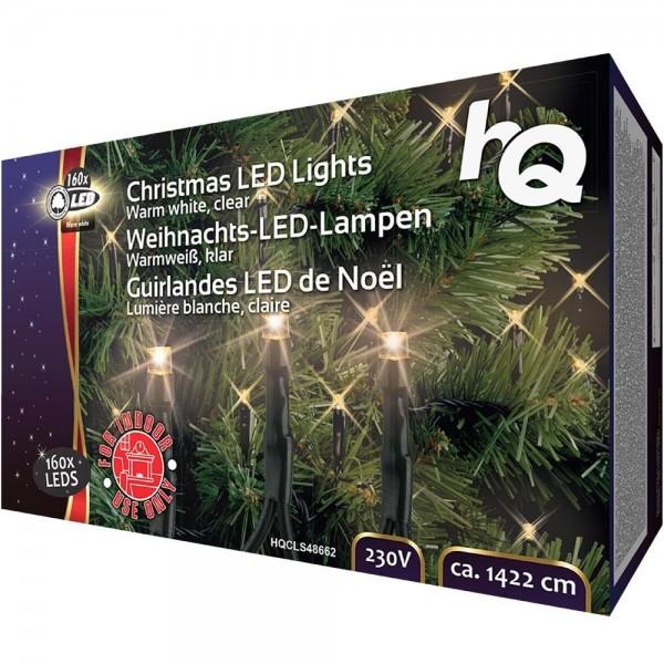 Lichterkette Weihnachtsbeleuchtung 160 LED Lichter Lampen 5.6W 1422cm