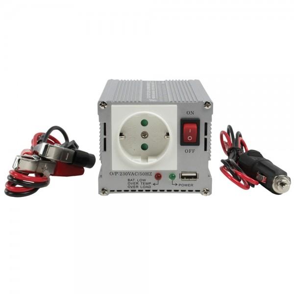 KFZ Stromwandler Spannungswandler Wechselrichter 12V auf 230V 300 WATT