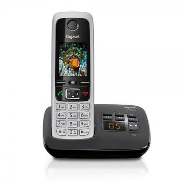 Siemens Gigaset C430A schnurloses Telefon mit Freisprecheinrichtung AB