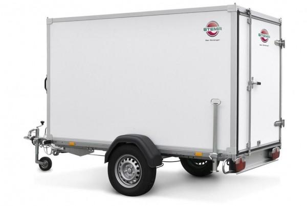 Stema PKW Koffer Anhänger Box Kofferaufbau Sandwich 1300kg 251cm x 128cm x 180cm