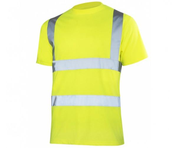 Arbeitsshirt Warnschutz T-shirt reflektierend Größe L