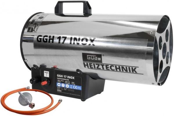 Güde Gasheizgebläse GGH 17 INOX Bauheizer Heizgebläse Heizung 17kW 230V