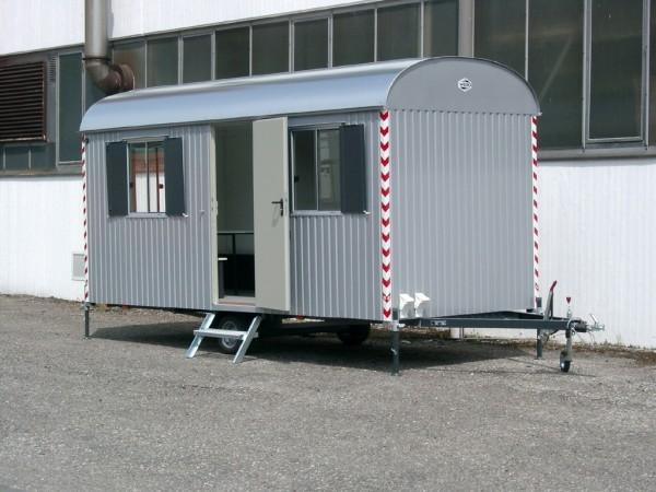 Bauwagen Baustellenwagen 5m mit kompletter Einrichtung 500m/220cm/230cm