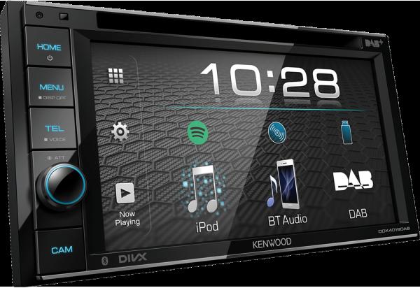 Autoradio Kenwood DDX4019DAB CD MP3 Aux USB Bluetooth BT DAB+ Digitalradio
